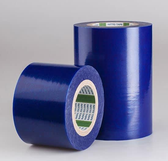 Клейкая лента синяя