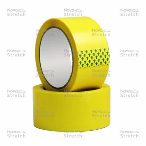 Клейкая лента желтая