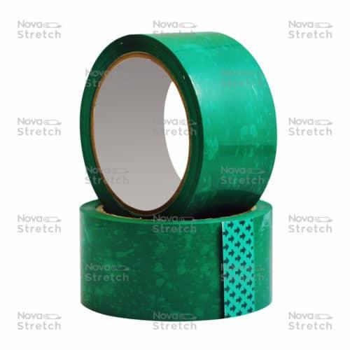 Клейкая лента зеленая