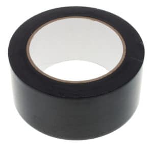 Клейкая лента черная