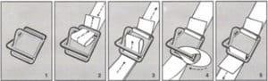 Пряжки для упаковочной ленты