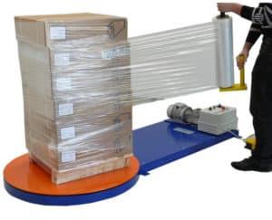 Диспенсер для ручной упаковки стрейч пленкой