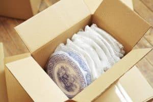 Упаковка хрупких предметов