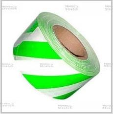 оградительная зелено белая