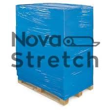 Синяя стрейч пленка упаковочная
