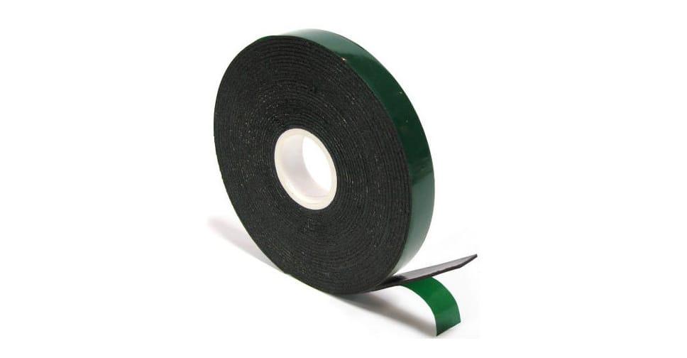 Зеленый двухсторонний скотч