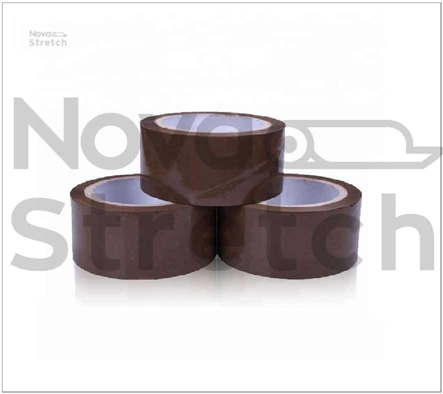 Клейкая лента коричневая