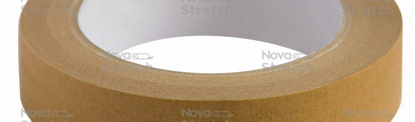 Клейкая лента креппированная (малярная) 80 ° С