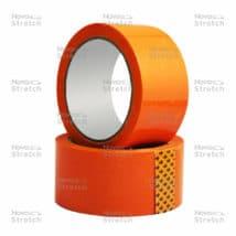 Клейкая лента оранжевая